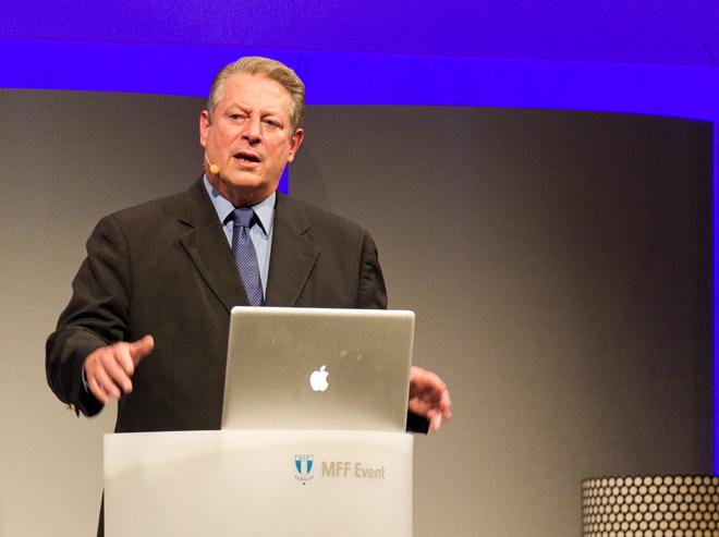 Al Gore och Hans Blix – föreläsning och debatt